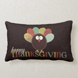 Thanksgiving AND Autumn Monogrammed Pillow