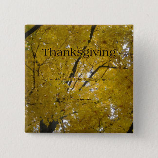 Thanksgiving Angels Pinback Button