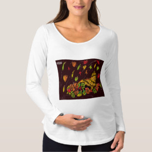 2f634196 Thanksgiving Maternity Shirts & Tops | Zazzle