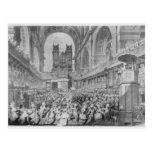 Thanksgiving at St. Paul's for George III's Postcard