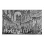 Thanksgiving at St. Paul's for George III's Print
