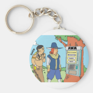 THANKSGIVING / ATM / FINANCIAL / BANKER gifts Keychain