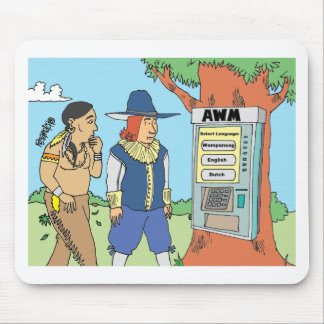 THANKSGIVING / ATM / FINANCIAL / BANKER gifts Mousepads