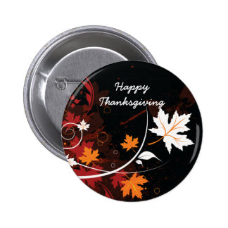 Thanksgiving autumn leaves-maple custom products 2 inch round button