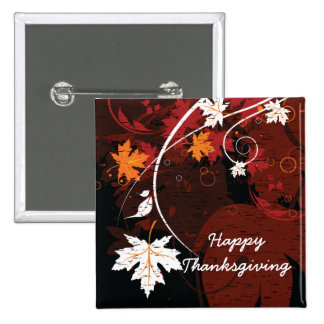 Thanksgiving autumn leaves-maple custom products 2 inch square button