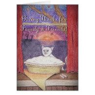 Thanksgiving Autumn Pleasures Cards