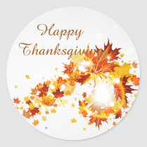 Thanksgiving Autumn Stickers
