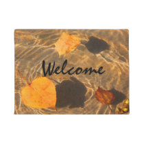 Thanksgiving Autumn Welcome Mat by RoseWrites