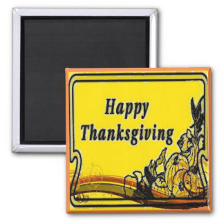 Thanksgiving Basket Magnet