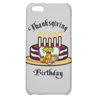 Thanksgiving Birthday Cover For iPhone 5C