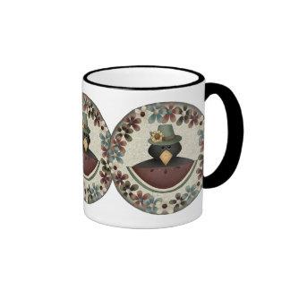 Thanksgiving Blackbird Mug