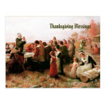 Thanksgiving Blessings. Customizable Postcard