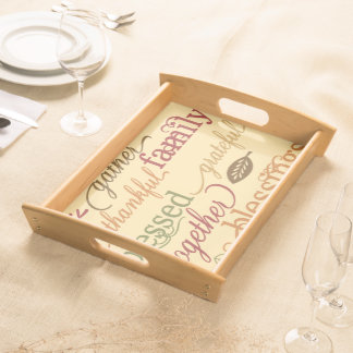 Thanksgiving Blessings Serving Tray