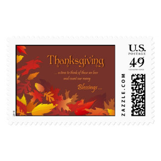 Thanksgiving Blessings Stamp