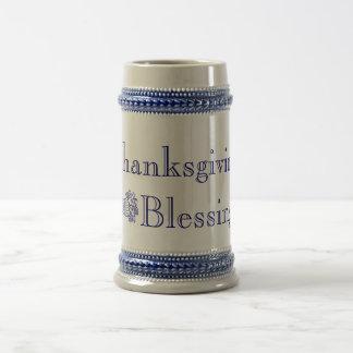 Thanksgiving Blessings Stein