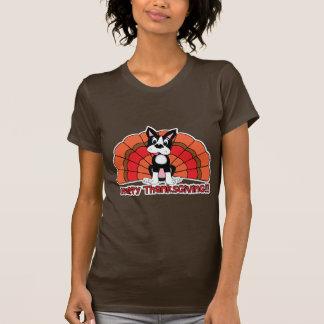 Thanksgiving Boston Terrier T-Shirt