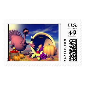 Thanksgiving Bounty Postage