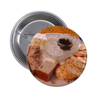 Thanksgiving Brie Caviar Duck Pate Buttons