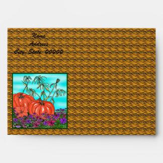 Thanksgiving Card Envelope