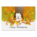 Thanksgiving Card - Happy Thanksgiving Westie