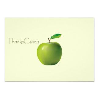 "ThanksGiving card 5"" X 7"" Invitation Card"