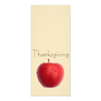 "Thanksgiving card 4"" x 9.25"" invitation card"