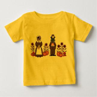 Thanksgiving Cats Baby T-Shirt