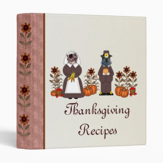 Thanksgiving Cats Binder