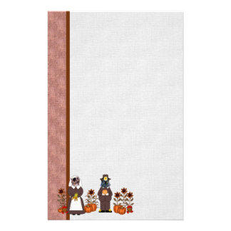 Thanksgiving Cats Stationery