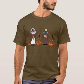Thanksgiving Cats T-Shirt