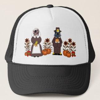 Thanksgiving Cats Trucker Hat