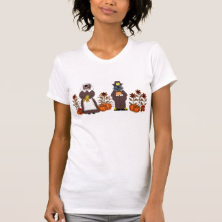 Thanksgiving Cats Tee Shirts