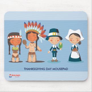 Thanksgiving Celebration Mouse Pad