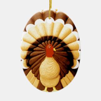 thanksgiving ceramic ornament