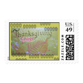 Thanksgiving Cheer Collage Postage Stamp