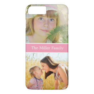 Thanksgiving Christmas Birthday Gift Family Photo iPhone 7 Plus Case