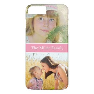Thanksgiving Christmas Birthday Gift Family Photo iPhone 8 Plus/7 Plus Case
