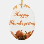 Thanksgiving Christmas Tree Ornaments