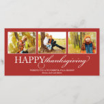 THANKSGIVING COLLAGE | HOLIDAY PHOTO CARD (More colors and other collage styles available. Visit shop for details)