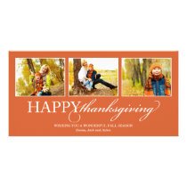 THANKSGIVING COLLAGE | HOLIDAY PHOTO CARD