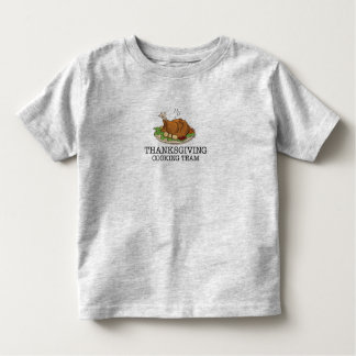Thanksgiving Cooking Team Fried Turkey Shirt