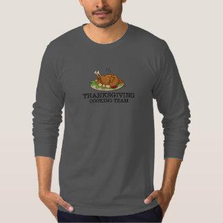 Thanksgiving Cooking Team Fried Turkey T-shirt