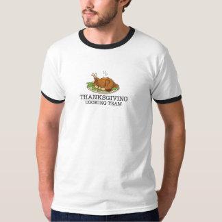 Thanksgiving Cooking Team Fried Turkey Tee Shirt