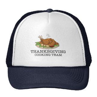 Thanksgiving Cooking Team Fried Turkey Trucker Hat