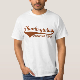 Thanksgiving Cooking Team Funny T-Shirt