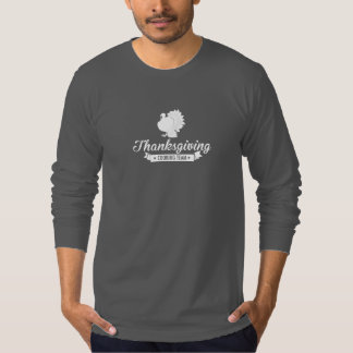 Thanksgiving Cooking Team White T-shirt