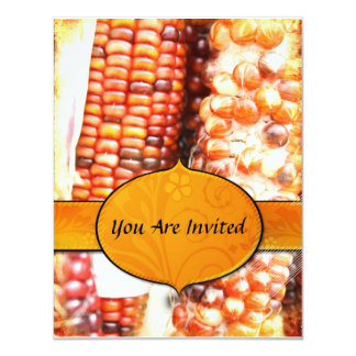 Thanksgiving Corn  Invitation