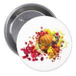 Thanksgiving Cornucopia 3 Inch Round Button