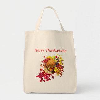 Thanksgiving Cornucopia Bag