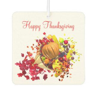 Thanksgiving Cornucopia Car Air Freshener